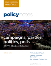 Policy Notes - Spring 2016