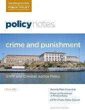 Policy Notes - Fall 2014