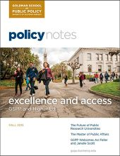 Policy Notes - Fall 2015
