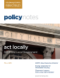 Policy Notes - Fall 2016