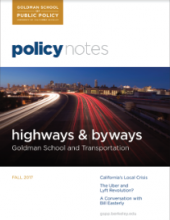 Policy Notes - Fall 2017