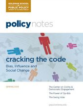 Policy Notes - Spring 2013