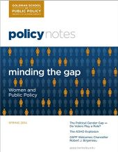 Policy Notes - Spring 2014