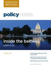 Policy Notes - Spring 2015