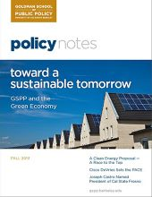 Policy Notes - Fall 2013