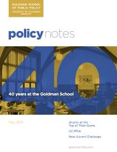 Policy Notes - Fall 2010