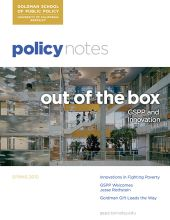 Policy Notes - Spring 2010