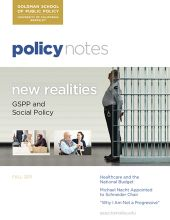 Policy Notes - Fall 2011