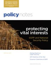 Policy Notes - Spring 2011