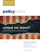 Policy Notes - Spring 2012