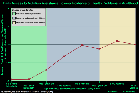 SNAP Nutrition Aid Can Provide Long Term Benefits